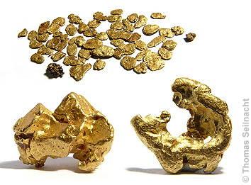 warum kommt gold nicht als erz vor